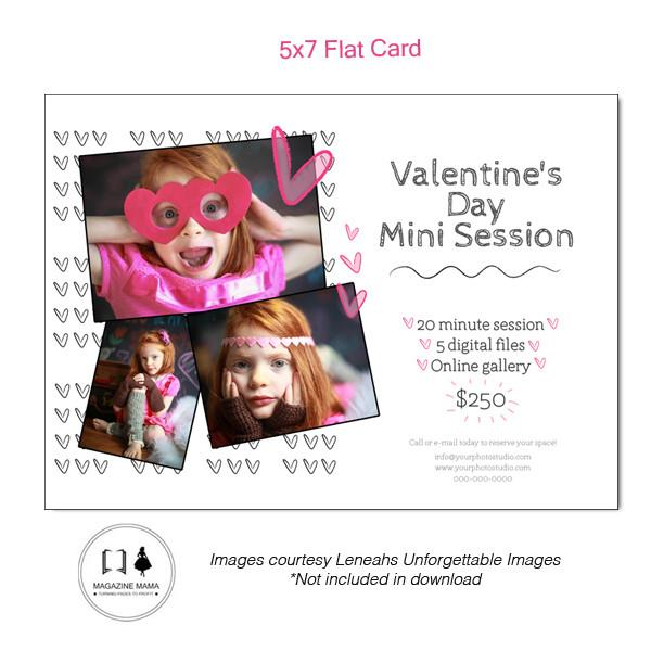 5x7 Flat Card and Facebook Template