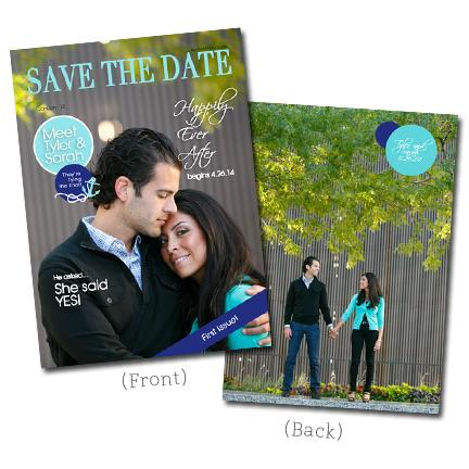 5x7 Flat Card - Save the Date