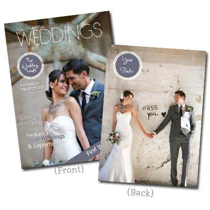 5x7 Flat Card - Weddings