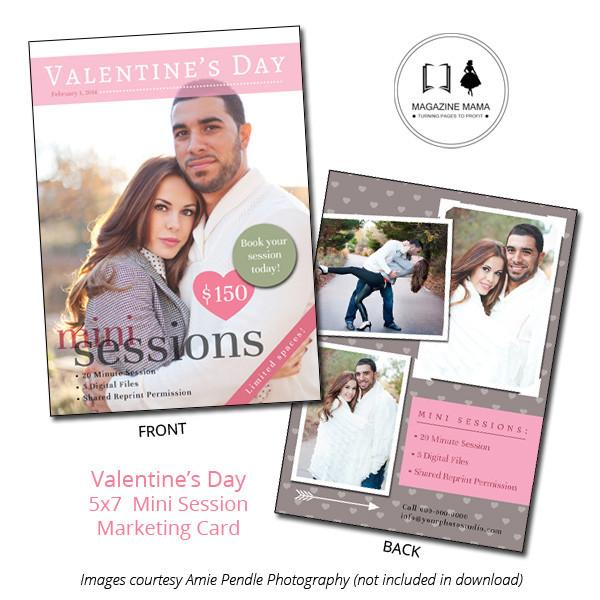 Mini-Session Marketing Template 5x7 Flat Card