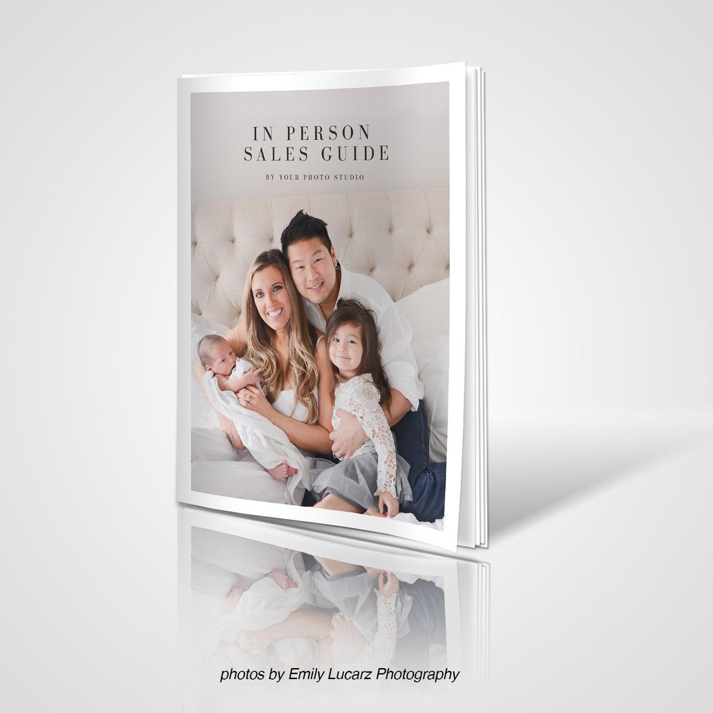 In Person Sales Photographer Welcome Guide Template