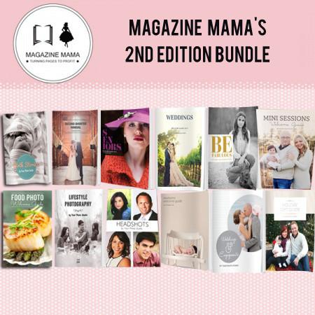 8.5x11 Magazine Template - Magazine Mama's ENTIRE 2nd Edition Bundle