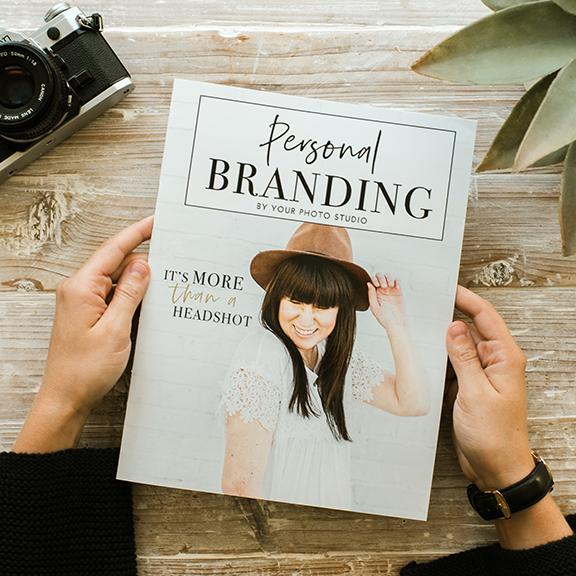 Personal Brand Photography Magazine Template  (Canva Template Version)