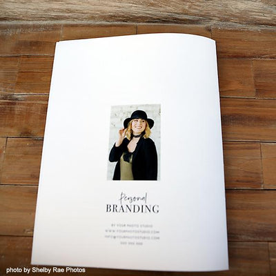 Personal Brand Photography Marketing Template