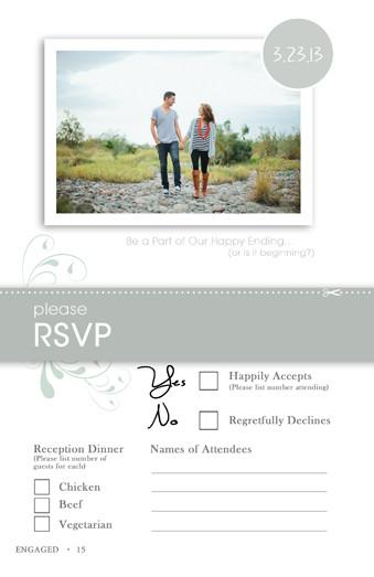 Save the Date Magazine Template