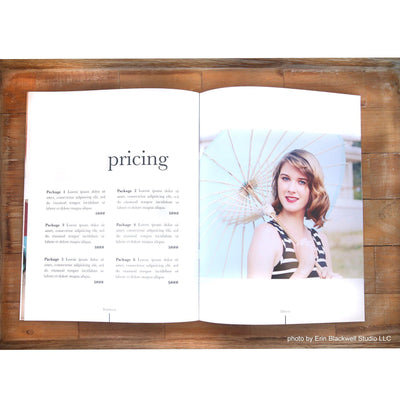 Senior Photography Magazine Template