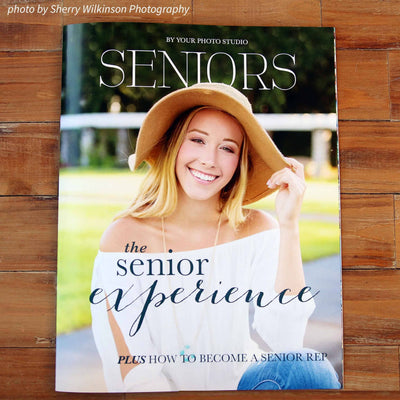 Senior Magazine Templates for photographers Cover
