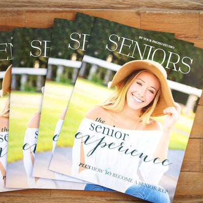 8.5x11 Magazine Template - Seniors Welcome Guide