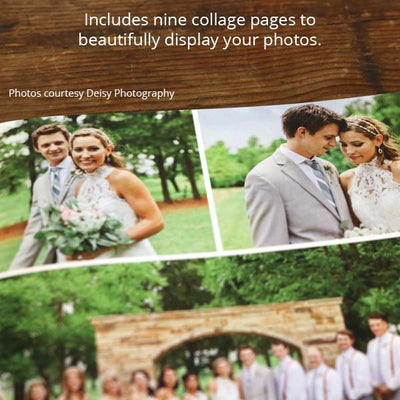 Wedding Photographer Magazine Template Collage Page