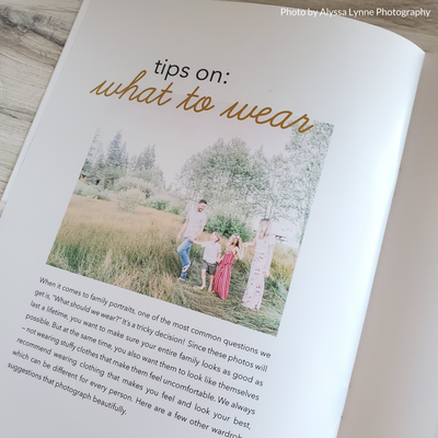 Family Photographer Welcome Guide Template