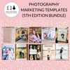 Photography Marketing Template Bundle by Magazine Mama (5th Edition)