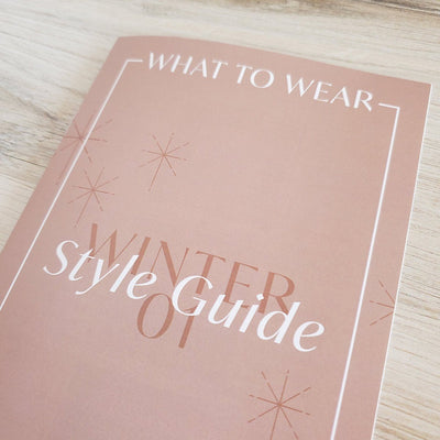 What to Wear Guide Template Photographer Style Guide