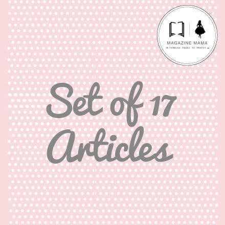 Articles Vol. 1 - Bundle