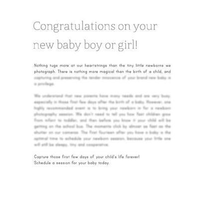 Articles - Articles Vol. 2 - Newborn Photography Articles