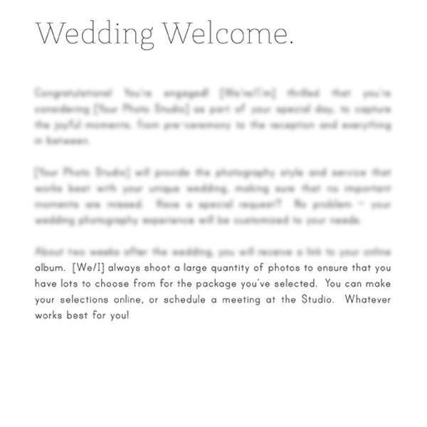 Articles - Articles Vol. 2 - Wedding Photography
