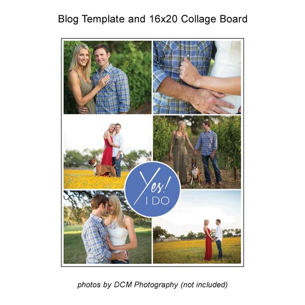 Blog Template And 16x20 Collage Board 07