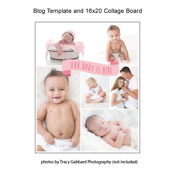 Blog Template And 16x20 Collage Board 08