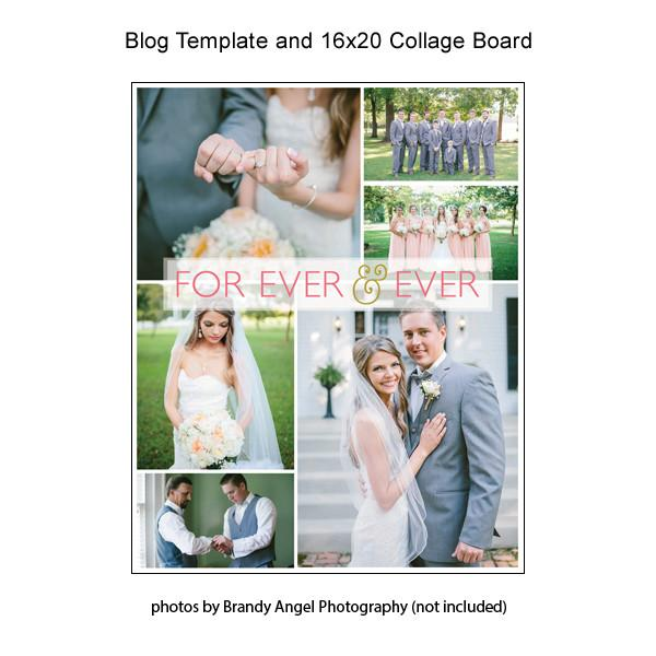 Blog Template And 16x20 Collage Board 09
