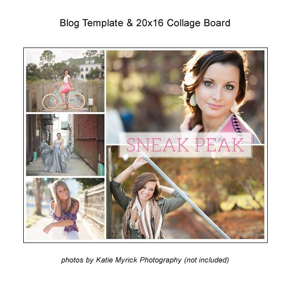 Blog Template And 20x16 Collage Board 04