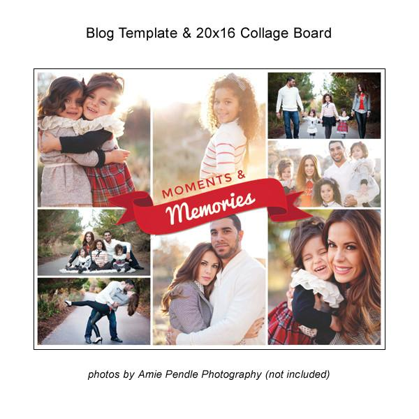 Blog Template And 20x16 Collage Board 05