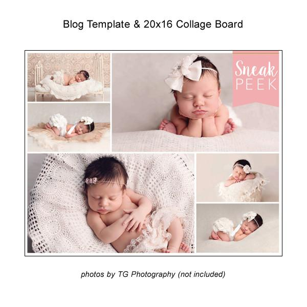 Blog Template And 20x16 Collage Board 06