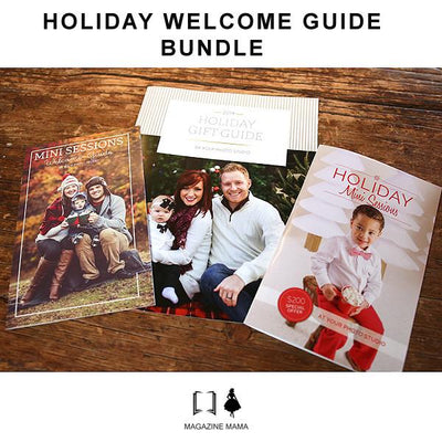 Holiday Welcome Guide Bundle