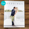 Weddings Welcome Guide Love Issue (Canva Template Version)