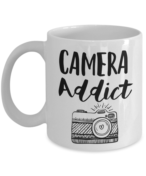 Coffee Mug - Camera Addict Photographer Mug