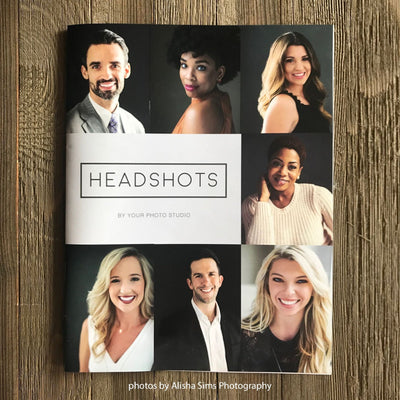Headshots Magazine Template (Canva Template Version)