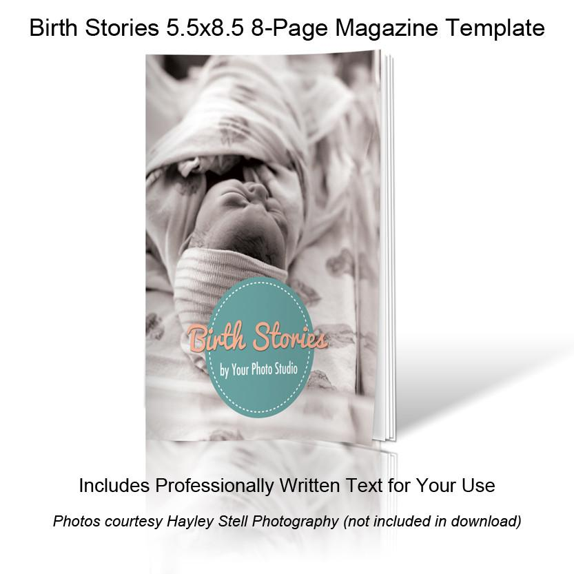 Birth Photography Welcome Guide Template