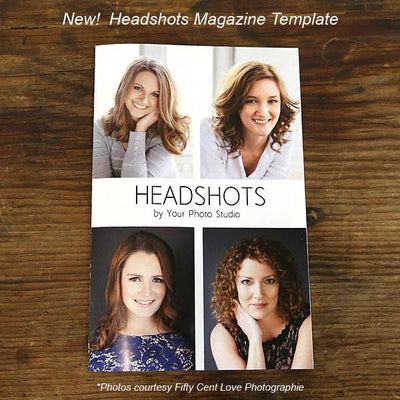 Headshot Template Cover