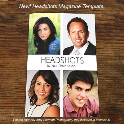 Headshot Template PSD