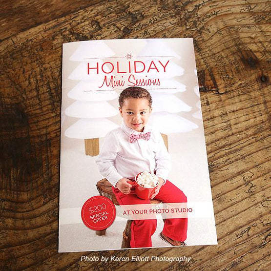 Mini-Magazine - Holiday Mini Sessions Welcome Guide