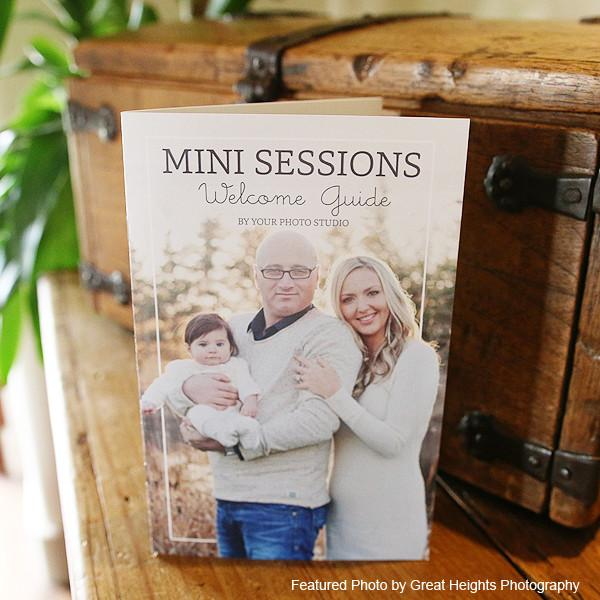 Mini-Magazine - Mini Session Welcome Guide