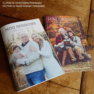 Mini Session Photography Welcome Guide Template
