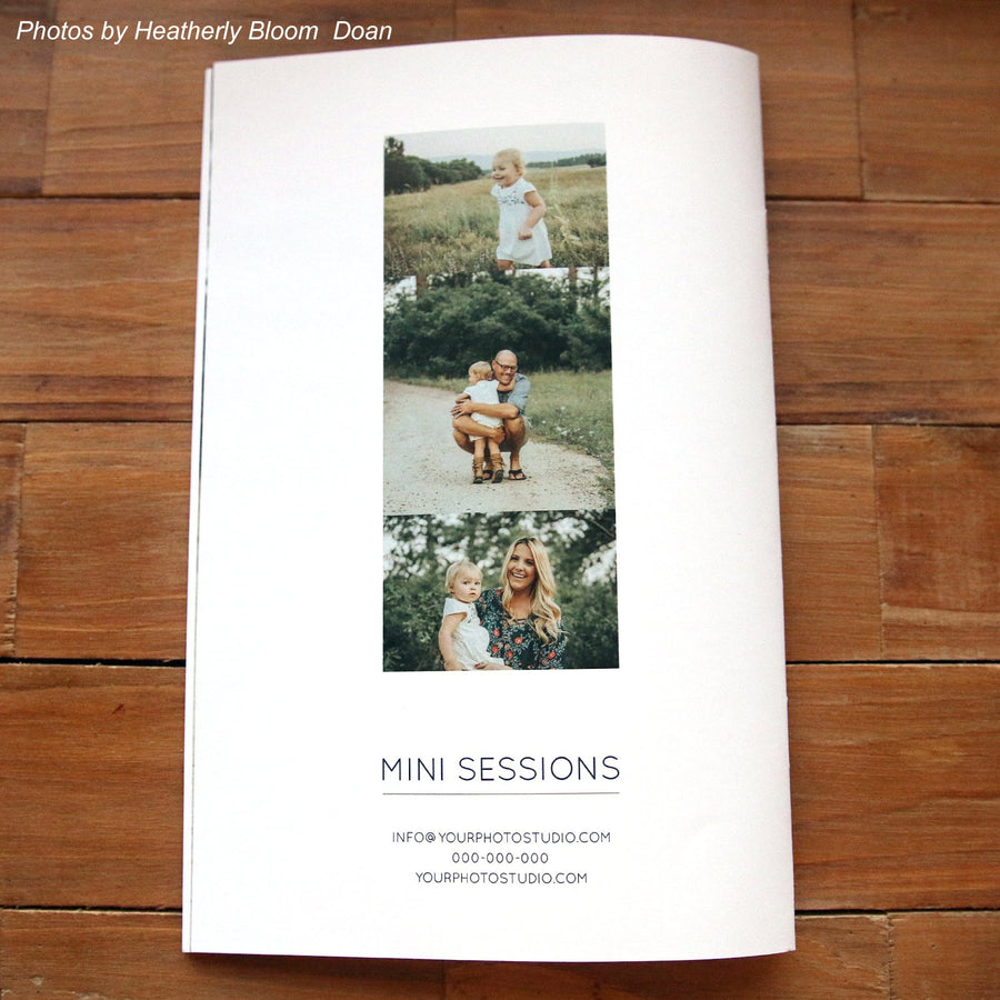 Photography Mini Session Welcome Guide Template