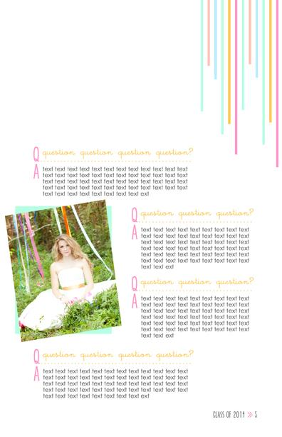Senior Magazine Template