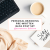 Personal  Branding Photography Blog Posts Quarantine Edition