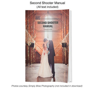 Second Shooter/Assistant Photographer Manual