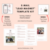 Photographer Lead Magnet Template Kit (Fall Family Photo Tips)