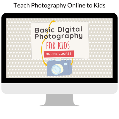 Teach Photography Online to Kids