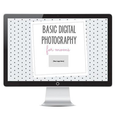 Templates For Teaching - Basic Digital Photography Curriculum Bundle For Moms