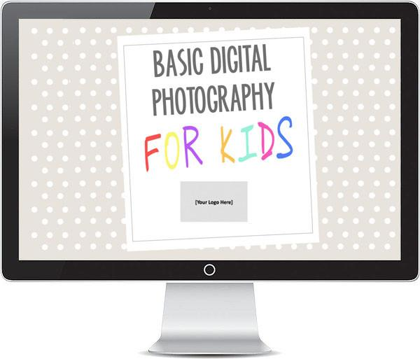 Templates For Teaching - Basic Digital Photography For Kids - Powerpoint Presentation