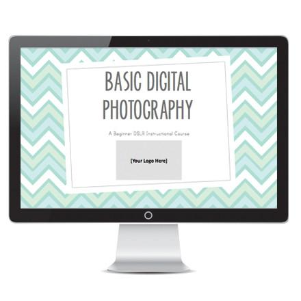 Templates For Teaching - Basic Digital Photography - Powerpoint Presentation