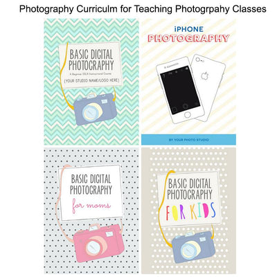 Teaching Photography for kids and adults