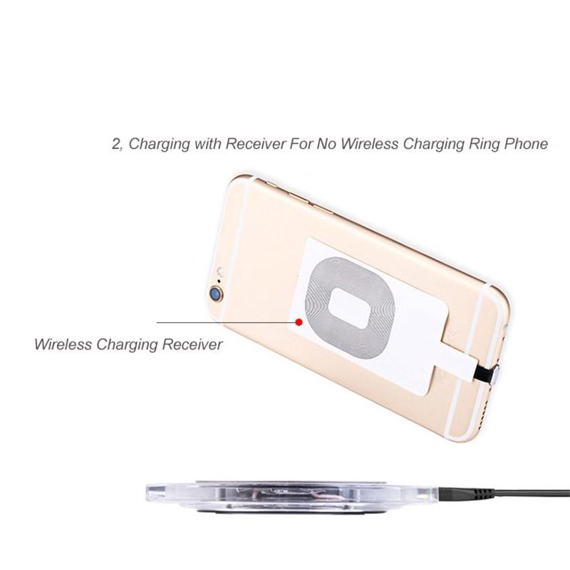 Qi Wireless Charger Pad C1 + Receiver