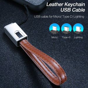 USB Keychain Charging Cable LUX