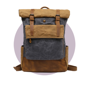 CANVAS BACKPACK VINTAGE PETER