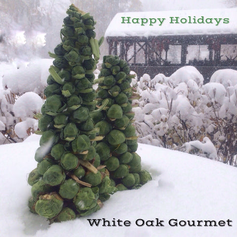 White Oak Gourmet Holiday Menu 2017