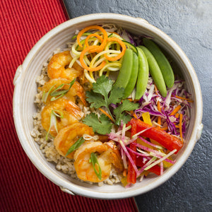 Stir Fry Shrimp Bowl